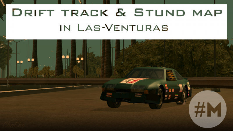 Drift track & Stund map